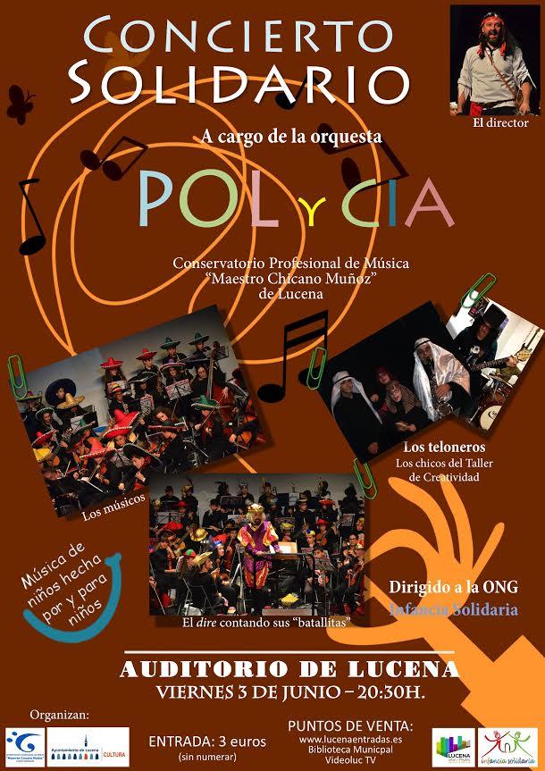 polycia concierto solidario